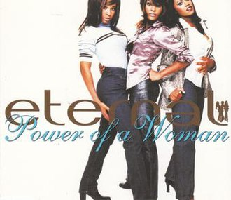 Power of a Woman (song) - Image: Eternal Power of a Woman CD Single Cover