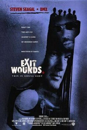 Exit Wounds - Theatrical release poster