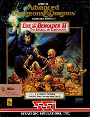 Eye of the Beholder II: The Legend of Darkmoon - Amiga Cover art