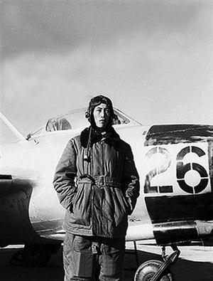 Fan Wanzhang - Fan Wanzhang during the Korean War.