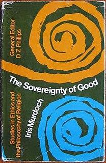 <i>The Sovereignty of Good</i>
