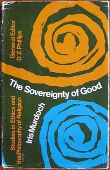 "First edition cover of ""The Sovereignty of Good"""