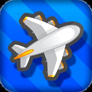Flight Control (video game) - Image: Flight Control game i OS logo