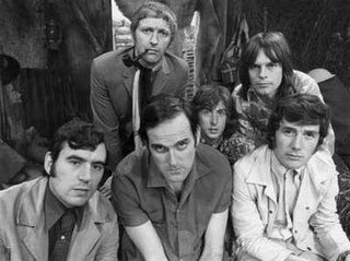 Monty Python British surreal comedy group