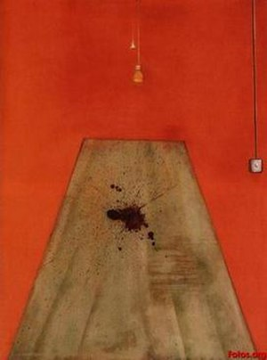 Blood on the Floor (Painting, 1986) - Blood on the Floor (Painting, 1986), 1986. Oil on canvas, 198cm x 147.5cm. Private collection, Melbourne, Australia