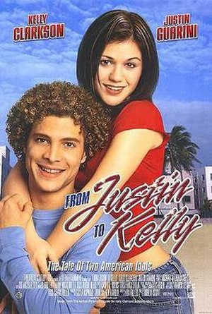 From Justin to Kelly - Theatrical release poster