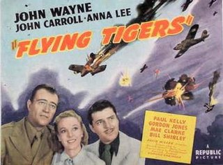 <i>Flying Tigers</i> (film) 1942 black-and-white war film directed by David Miller