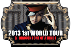 G-Dragon One of a Kind World Tour Poster.png