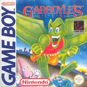 Gargoyle's Quest - On the North American box art, the game's character Firebrand is green, however, the Japanese box art and all box art for the later games depicted him as being red.