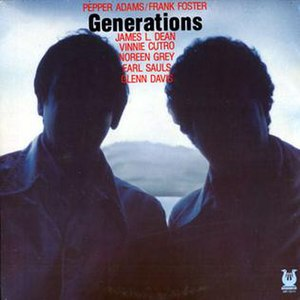 Generations (Pepper Adams and Frank Foster album) - Image: Generations (Pepper Adams and Frank Foster album)