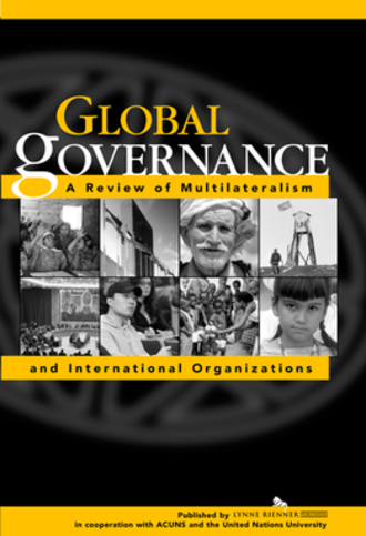 Global Governance: A Review of Multilateralism and International Organizations - Image: Gobal Governance cover
