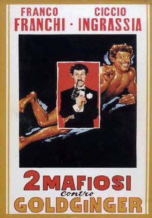 Two Mafiosi Against Goldfinger - Original film poster