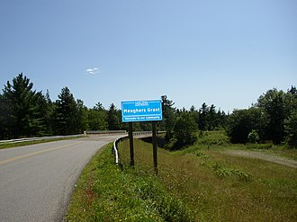 """Communities in the Halifax Regional Municipality -  Most communities of the Halifax Regional Municipality are marked with """"Welcome to our Community""""  signs ."""