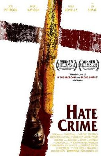Hate Crime (2005 film) - Theatrical film poster