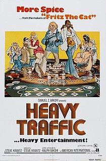 <i>Heavy Traffic</i> 1973 film by Ralph Bakshi