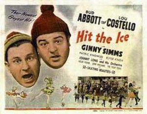 Hit the Ice (film) - Theatrical release poster