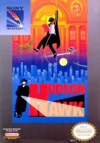 Hudson Hawk (video game) - Image: Hudson Hawk cover art (NES)