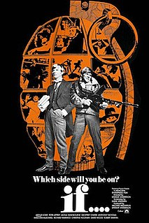 <i>if....</i> 1968 film by Lindsay Anderson