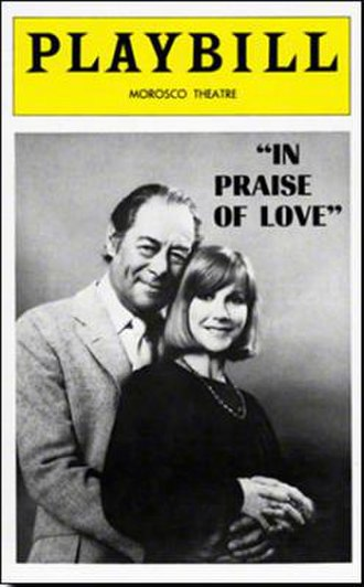 In Praise of Love (play) - Image: In Praise of Love (play)