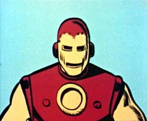 The Marvel Super Heroes - One depiction of Iron Man in the series