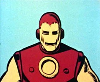 Iron Man in other media - Iron Man on The Marvel Super Heroes animated series.