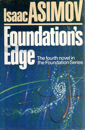 Foundation's Edge - Cover of first edition (hardcover)