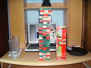 Jenga - Jenga Truth Or Dare Tower