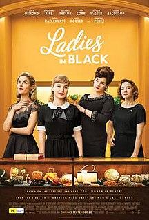 <i>Ladies in Black</i> (film) 2018 film by Bruce Beresford