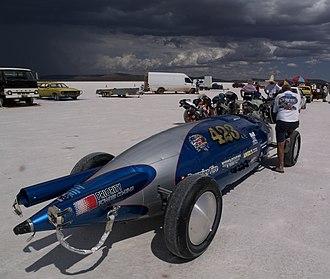 Lake Gairdner - Speed Week 2009