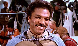 Williams as Lando Calrissian