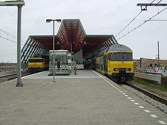 Lelystad Centrum railway station - Image: Lelystad Centrum