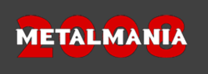Metalmania - Image: Logo metalmania 2008