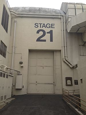 The Lucy Show - Stage 21 at the Desilu Studios (now Paramount) where The Lucy Show was filmed