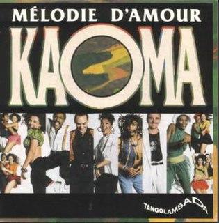 Mélodie damour (Kaoma song) 1990 single by Kaoma