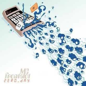 Zero Day (album) - Image: MC Frontalot Zero Day cover