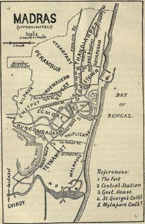 Raja of Panagal - Image: Madras 1921