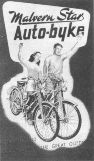Malvern Star - Malvern Star advertisement from 1945