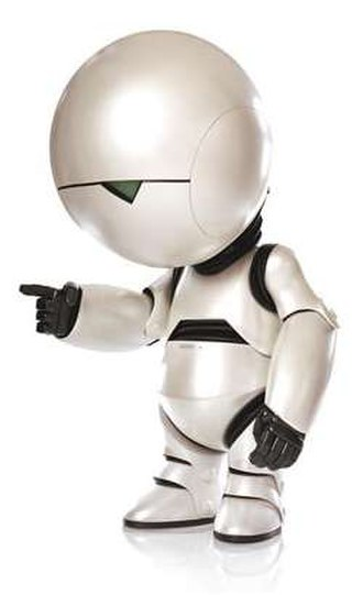 Marvin the Paranoid Android - 2005 film version