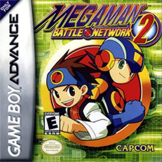 Mega Man Battle Network 2 - North American cover art