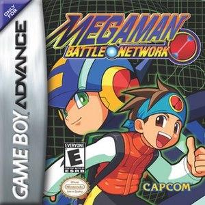 Mega Man Battle Network (video game) - North American box art