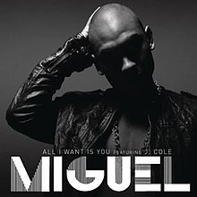 Miguel featuring J. Cole — All I Want Is You (studio acapella)
