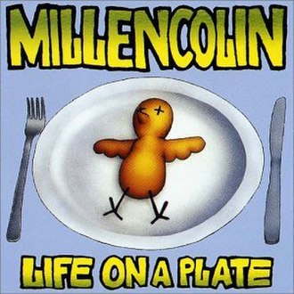 Life on a Plate - Image: Millencolin Life on a Plate cover