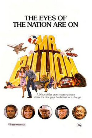 Mr. Billion - Theatrical release poster
