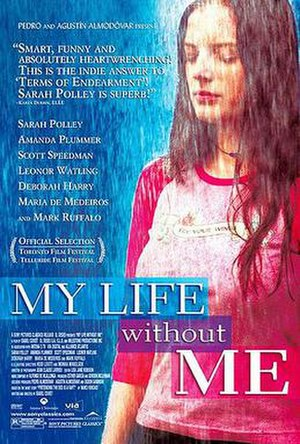 My Life Without Me - U.S. theatrical poster