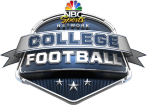 College Football on NBCSN - Image: NBCSN College Football logo
