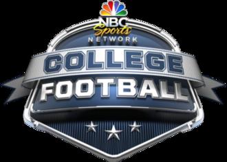 College Football on NBCSN - Image: NBCSN College Football logo