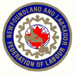 Newfoundland and Labrador Federation of Labour - Image: NLFL logo