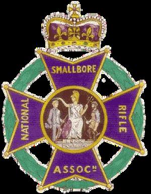 National Smallbore Rifle Association - NSRA logo.