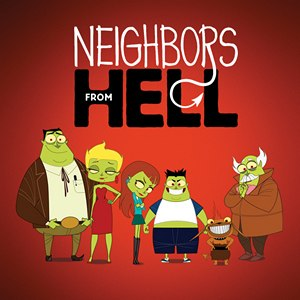 Neighbors from Hell - Image: Neighbours from Hell poster
