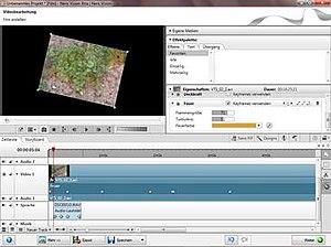 Nero Vision - Image: Nero Vision Xtra Screenshot